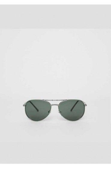 عینک خلبانی دودی مردانه بربری