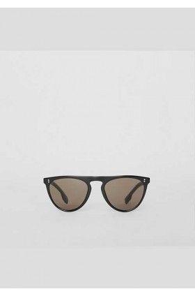 عینک آفتابی مردانه مشکی بربری