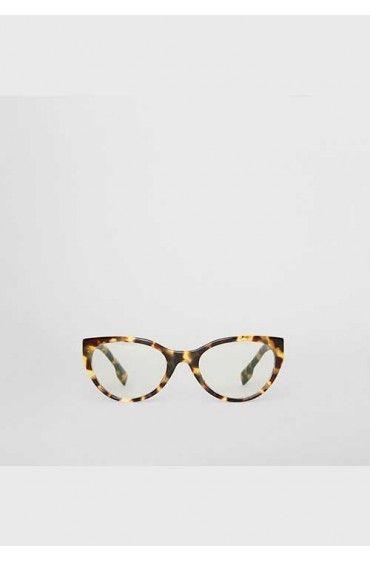 فریم عینک چشم گربه ای زنانه پلنگی بربری