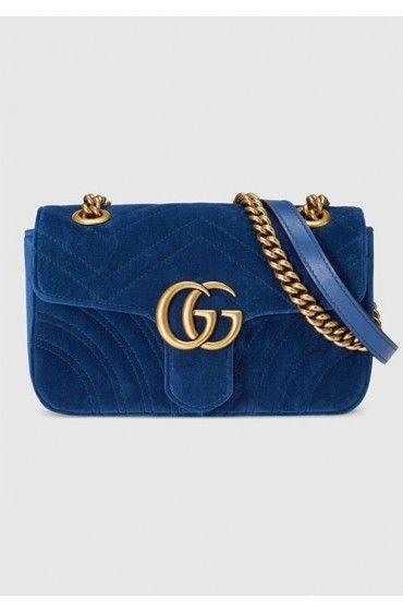 کیف زنانه مخمل گوچی