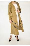 مانتو زنانه مدل BUTTERFLY برگاموند-2