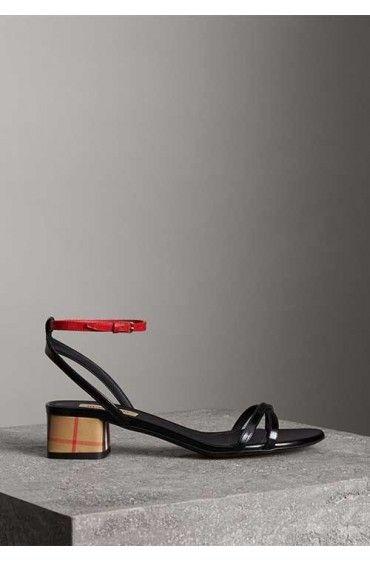 کفش پاشنه بلند زنانه بربری