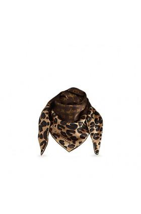 روسری پلنگی لویی ویتون