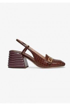 کفش پاشنه بلند زنانه فندی
