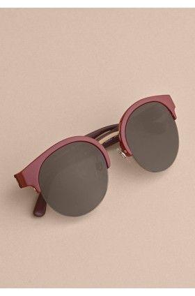 عینک آفتابی فریم نیمه زنانه بربری